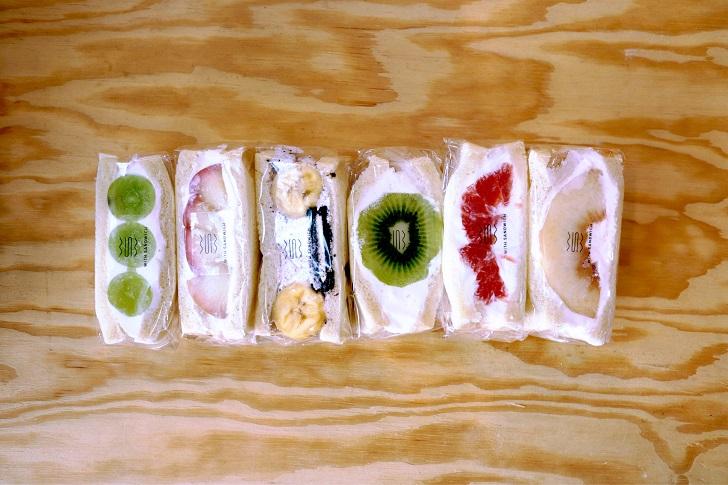 WITHSANDWICHのフルーツサンドイッチ